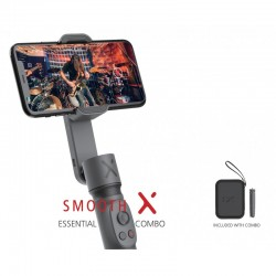 Combo Essential Zhiyun Smooth X Gris