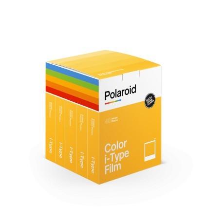Pack 40 film couleur pour appareils Polaroid i-Type