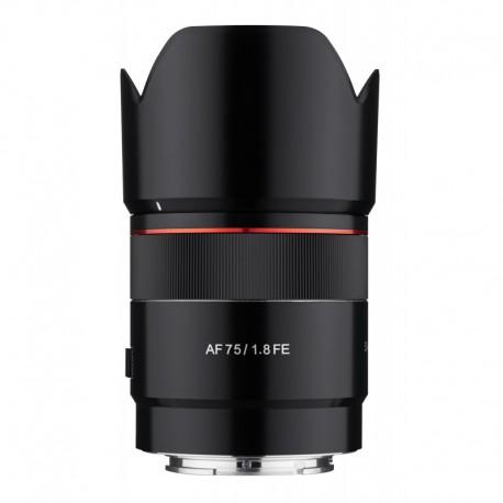 Samyang AF 75mm F1.8 compatible Sony FE
