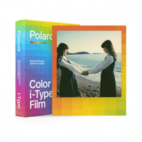 Polaroid film couleur i-Type 8 poses - Cadre arc-en-ciel
