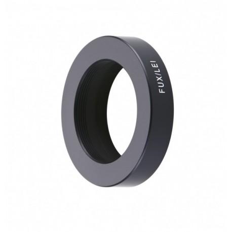 Bague Novoflex Fuji X pour optique M39 Ref FUX-LEI