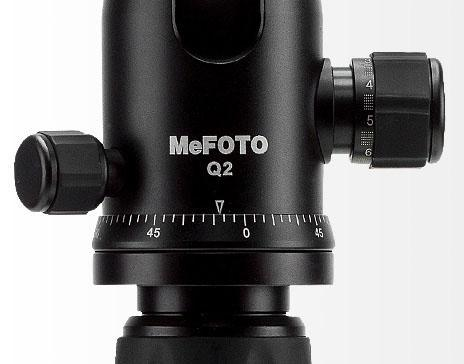 MeFoto-Série Globetrotter Classic rotule avec graduation panoramique