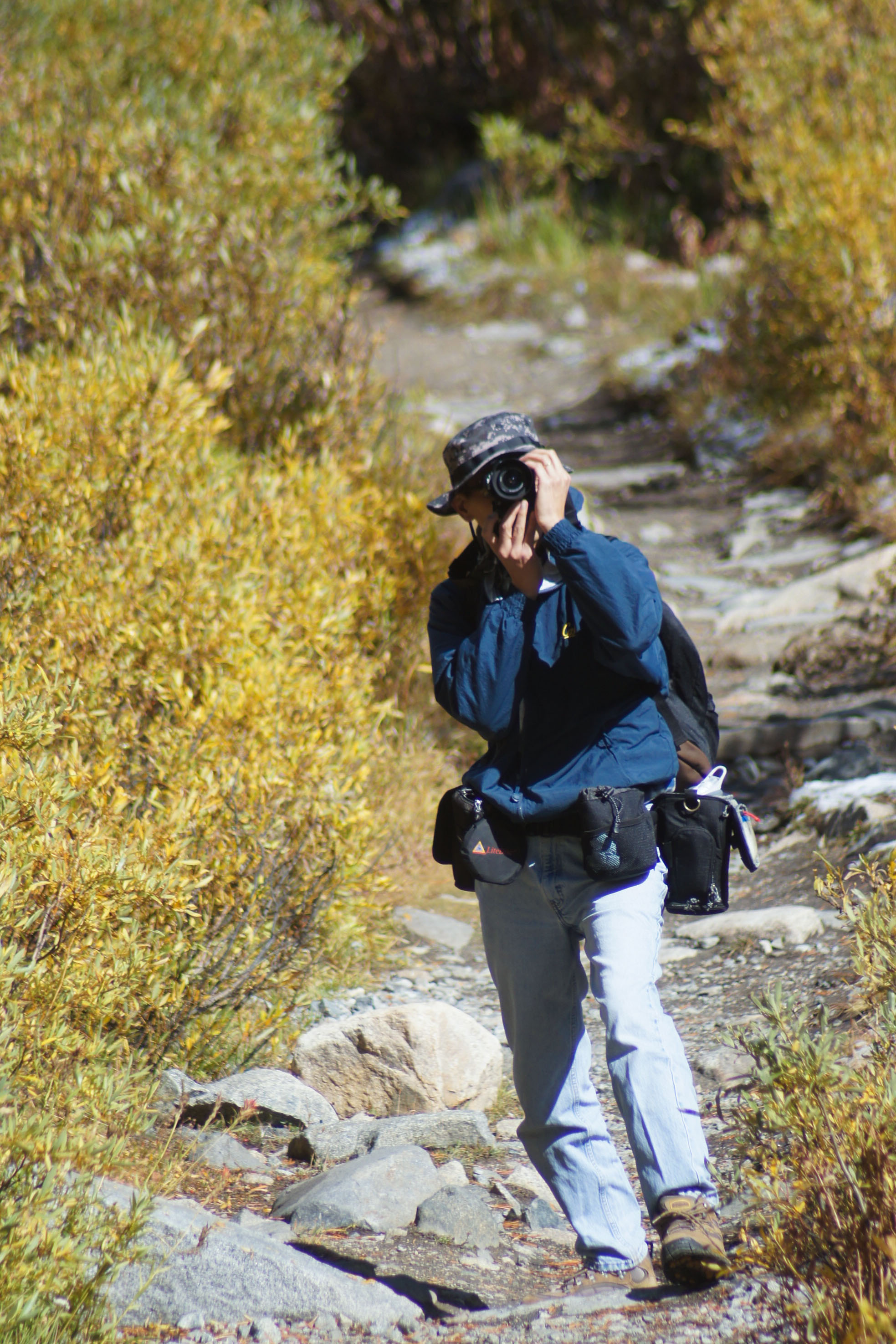 Tony Soria Shot by Tony Soria Rock Creek Trail, Eastern Sierras with Lens Changer 50, Digital Holster 20 and Skin 50