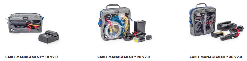 3 tailles Think Tank Photo Cable Management
